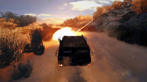 007 Legends driving
