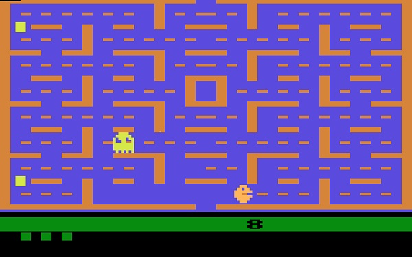 Pac Man on the Atari 2600