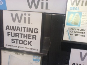 November 18, 2006 - Waiting for a Wii