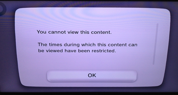 Wii U Shop Blocks 18 Rated Content Before 11pm in the EU image