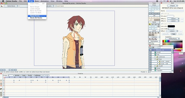 Anime Character Design Software : Games fiends anime studio review