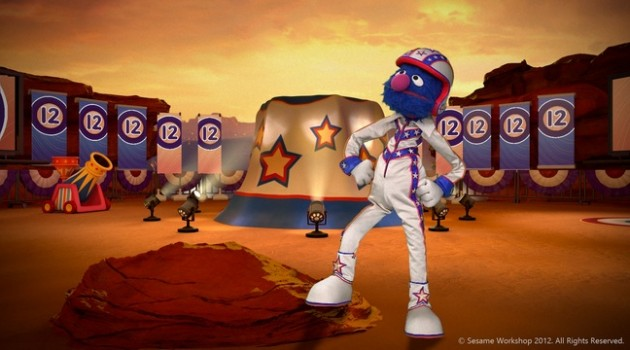 Microsoft take Kinect players back to Sesame Street