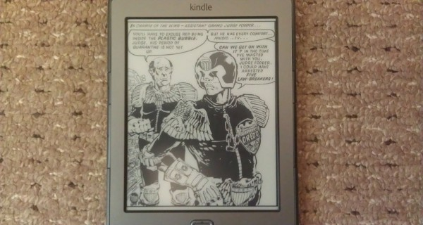 Judge Dredd E-Book Review