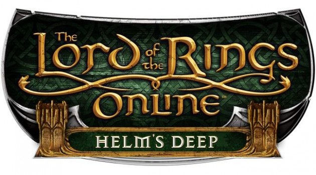 Lord of the Rings Online: Helm's Deep logo