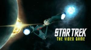 Star Trek the video game logo