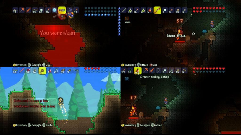 Games Fiends Terraria Xbox Review - Minecraft ps vita spieletipps