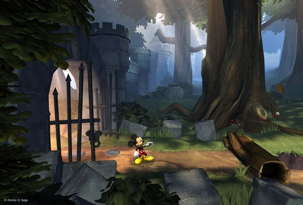 Castle of Illusion screen