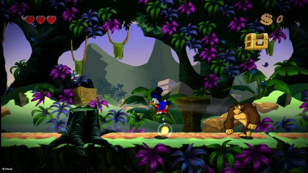DuckTales Remastered screen