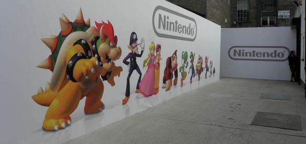 Nintendo Post E3 entranceway