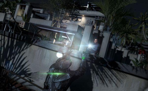 Splinter Cell: Blacklist screen