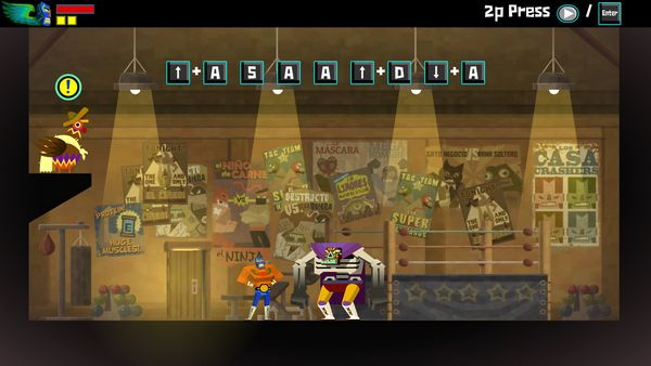 Guacamelee! screen
