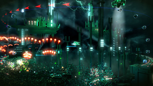 resogun ps4 2
