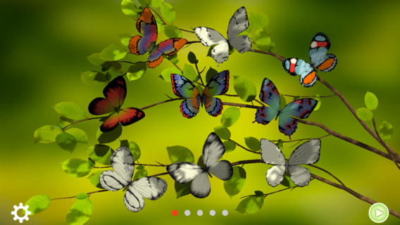 To Color In A Butterfly, Simply Select One From The Tree. You Are Then  Taken To The Creator Page, Where You Can Give The Butterfly Its Signature  Colors.