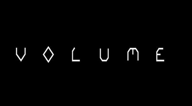 volume logo header