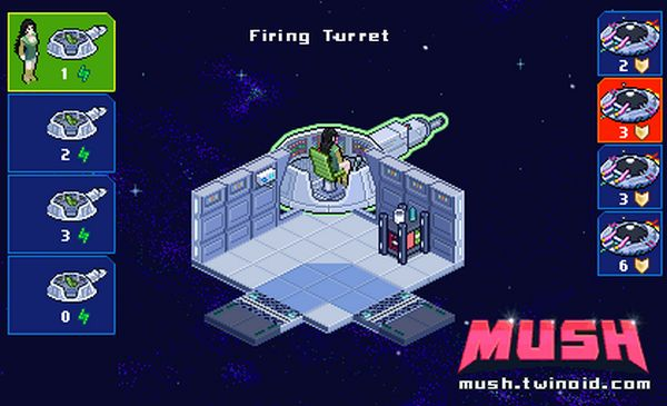 Mush screen - turret