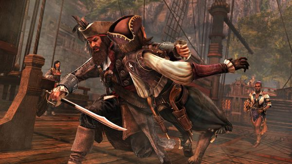 Assassin's Creed 4 DLC screen
