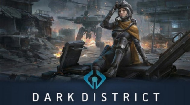 Dark District Logo Header