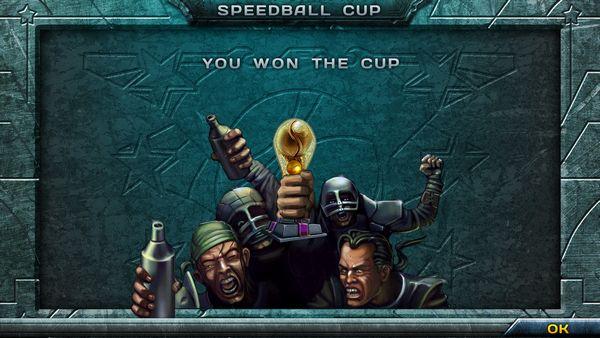 Speedball 2 HD screen
