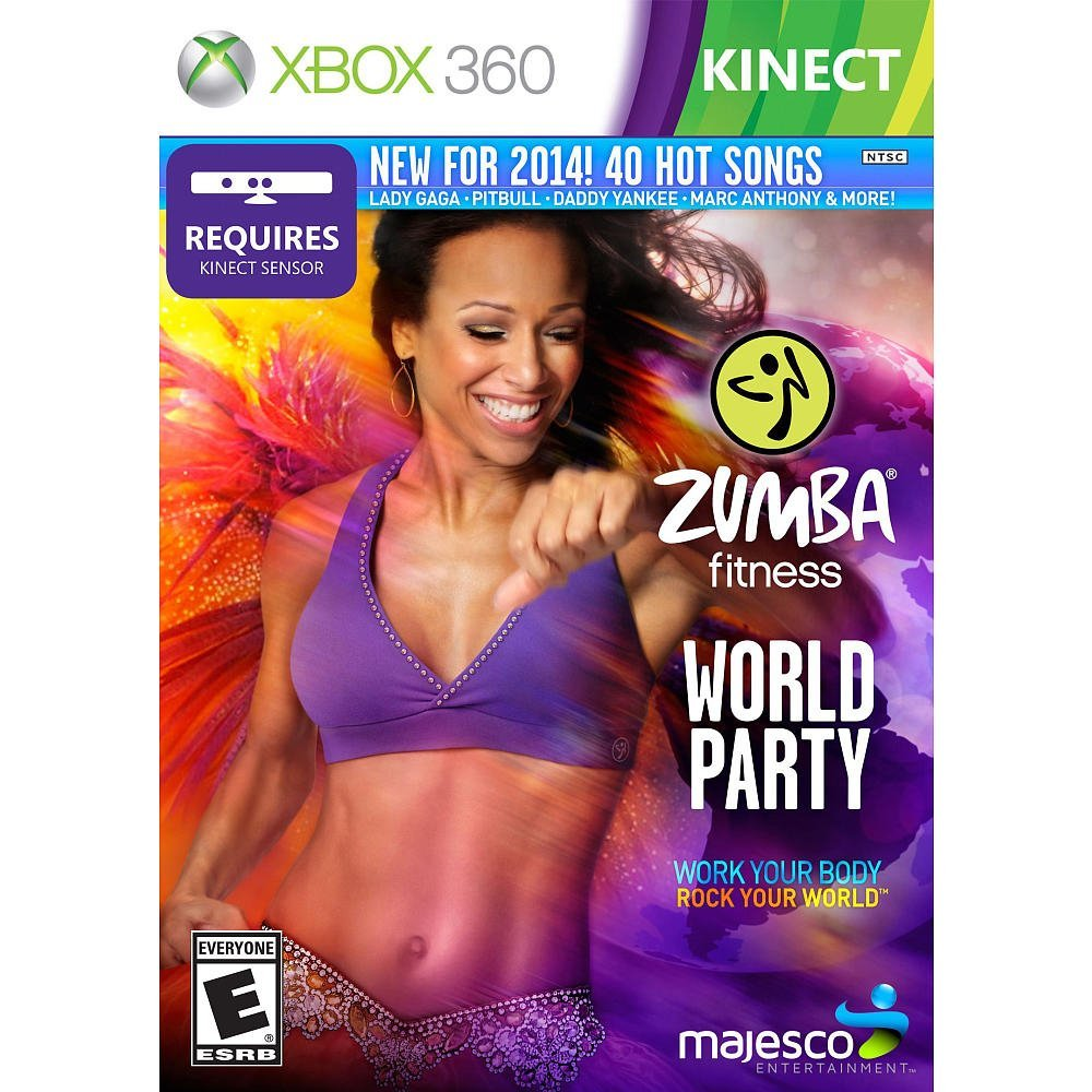 Fitness Music Dvd: Zumba Fitness World Party (Xbox360) Review