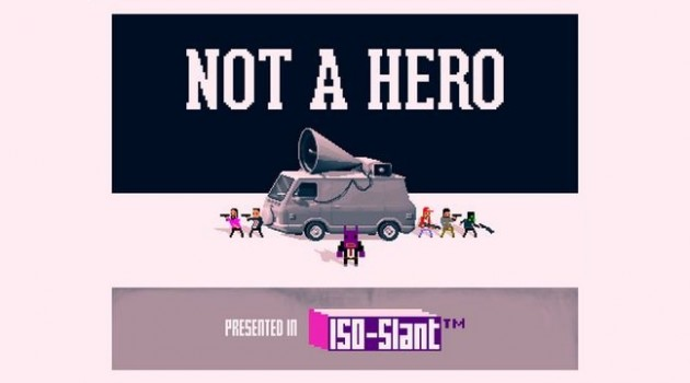 Not A Hero teaser art