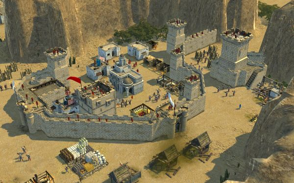 Stronghold Crusader 2 screen