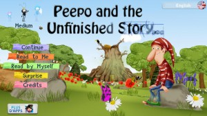 Peepo and the Unfinished Story (iOS) Review