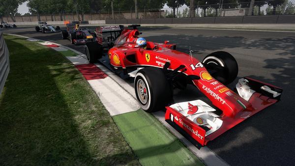 F1 2014 screen