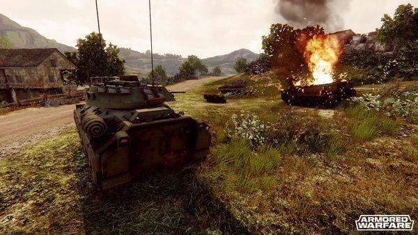 Armored Warfare screen