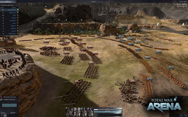 Total War Arena screen