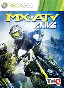 MX vs ATV Alive box art