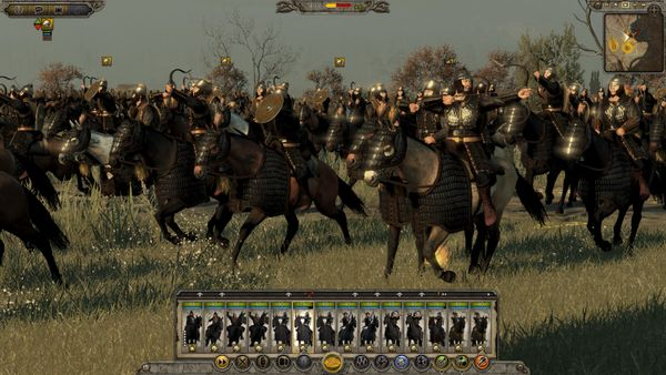 Total War Attila screen