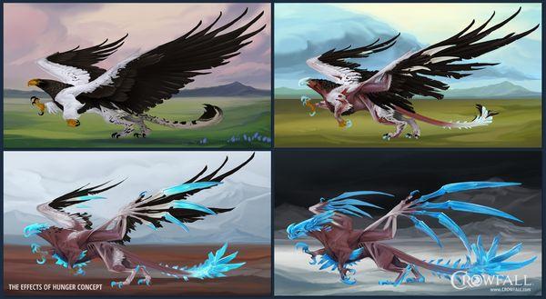 Crowfall Hunger concept art