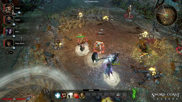 Sword Coast Legends screen