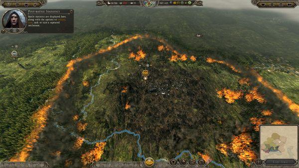 Total War Attila screen
