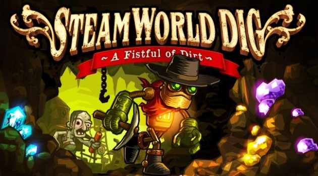 SteamWorld Dig header
