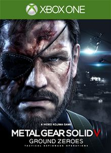 MGSV Ground Zeroes box art