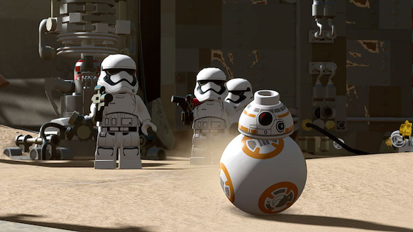 BB8 Lego Star Wars
