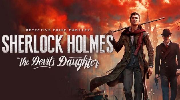 Sherlock Holmes Devils Daughter logo