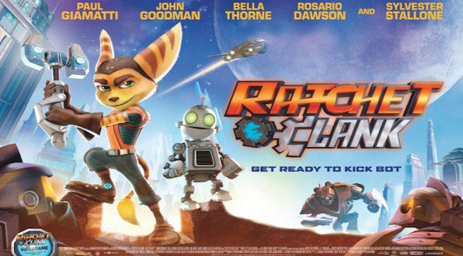 Ratchet and Clank poster