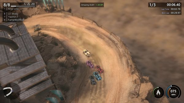 Mantis Burn Racing screen