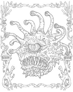 jimu_monsters_heroes_of_realms_dnd_coloring_book_page