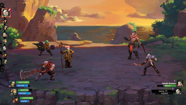 Battle Chasers Nightwar screen
