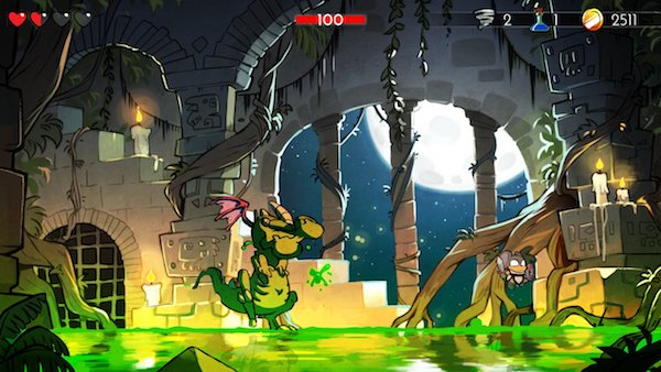 wonder boy dragon's trap screenshot 2