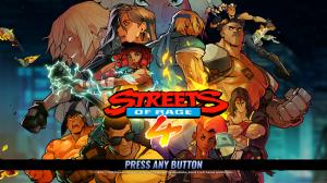 streets of rage 4 header image