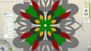 ArtRage 4 Screen Shot - Symmetry