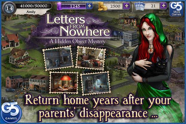 Games Fiends Letters From Nowhere A Hidden Object Mystery iOs