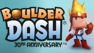 Boulder Dash 30th Anniversary logo