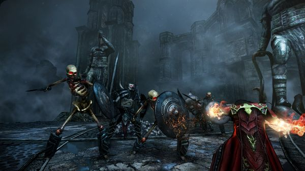 Castlevania Lords of Shadow screen