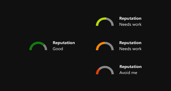 Xbox Live Reputation Image