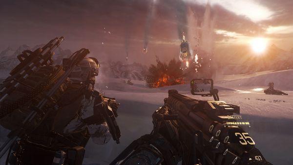 Call of Duty Advanced Warfare screen